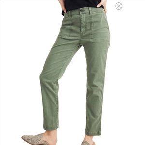Madewell Stovepipe Fatigue Pants